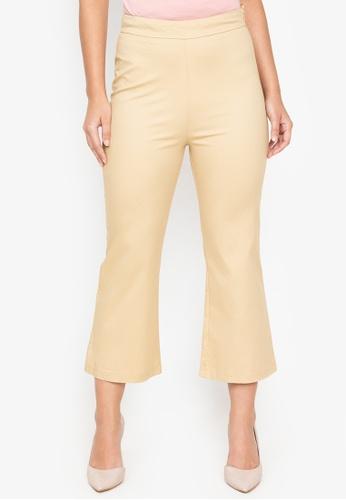 Wear Kris beige Kitty Woven Pants 602E8AA8590DACGS_1