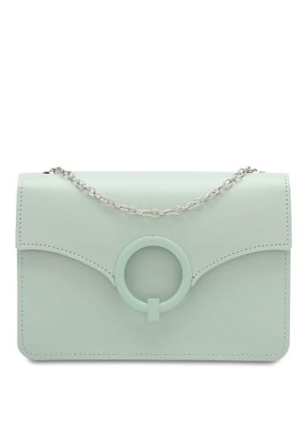 Swiss Polo green Ladies Chain Sling Bag 2CF84AC7A6D6C0GS_1