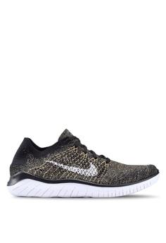 765480c56f28 Nike black Nike Free Rn Flyknit 2018 Shoes BBAA9SHD631B56GS 1