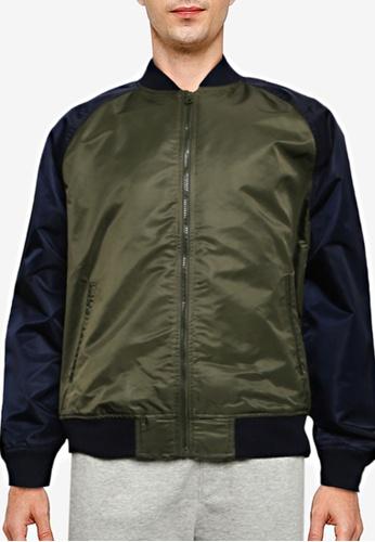 GAP 黑色 Logo Bomber Jacket F1A8DAA122B881GS_1