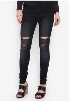 15aebc6eea Balaynor black Fashion Skinny Ripped Jeans 503E9AA9564282GS_1