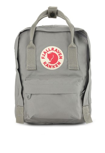 Fjallraven Kanken grey Kanken Mini Backpacks FJ242AC0UTJTID_1