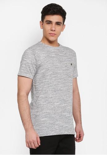 Indicode Jeans grey Palm Beach Pocket T-Shirt 12ABDAA053AD9CGS_1