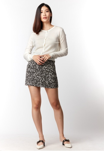 What To Wear white Knitted Cardigan in White 328FCAA13F9C4EGS_1