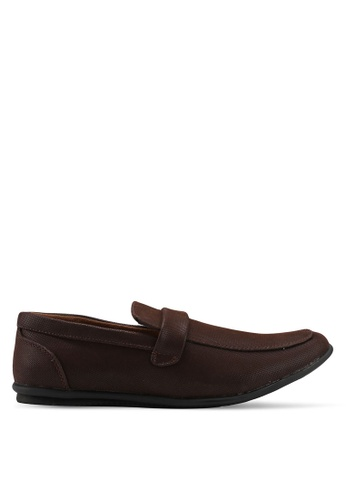 Rocklander brown Loafer Shoes F95D1SHEFEB522GS_1