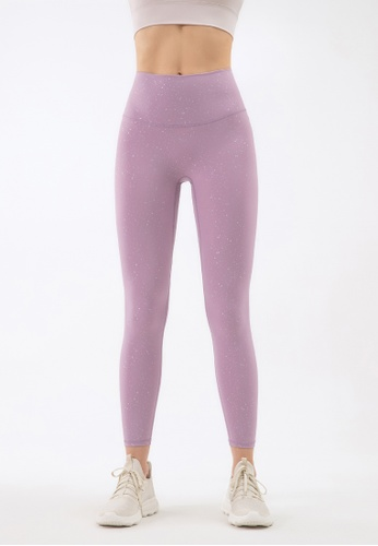 HAPPY FRIDAYS Sprinkle Silver Sports Tights ( No front crotch  line) DSG103 43EEFAA99AD101GS_1