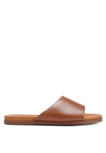 ALDO 褐色 繞帶拖鞋 413D1SH145FDAEGS_1