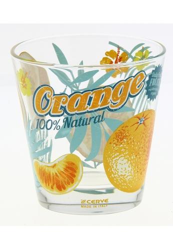 Cerve Cerve 250ML 6 Pcs Glass Tumbler / Glass Set / Gelas Kaca - Maui Orange BD558HL1392787GS_1