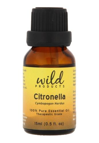 Wild Products Citronella Essential Oil (Cymbopogon Nardus) - 15 ml 0E1B5BE68564EAGS_1