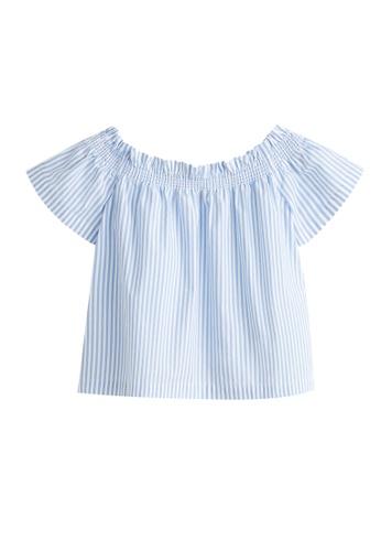 29a3d9599ab Off-Shoulder Cotton Blouse