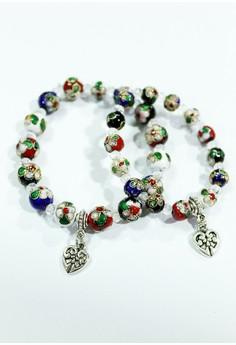 Cloizomne Beads Bracelet Set
