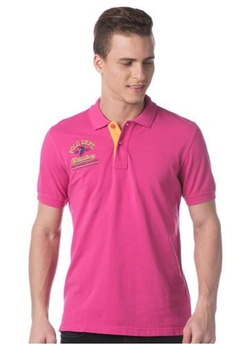 POLO HAUS pink Polo Haus - Polo Tee  (Pink) PO783AA06LMBMY_1