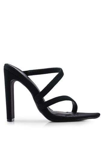 460ead1c6048f0 Shop MISSGUIDED Barely There Asymmetric Heels Online on ZALORA Philippines