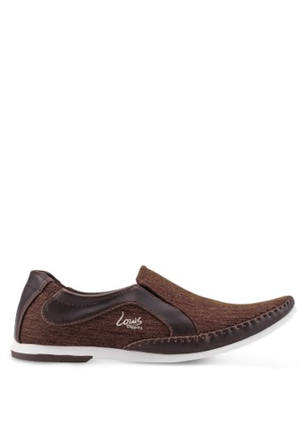 Louis Cuppers brown Slip-On Sneakers F02A5SH56A2346GS_1