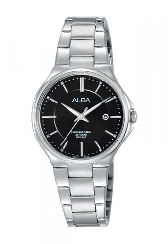 Alba silver Jam Tangan Alba Fashion AH7J65 Strap Stainless Steel Silver 55592ACD26E25AGS_1