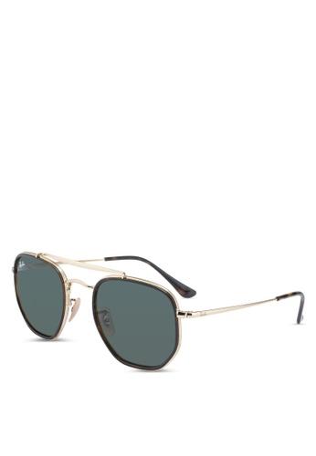 Ray-Ban gold Ray-Ban Marshall II RB3648M Sunglasses D597AGL3BA7AADGS_1