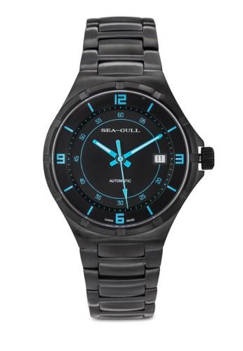 816.356 ST2130esprit門市地址 40mm 磨砂不銹鋼機械鍊錶, 錶類, 飾品配件