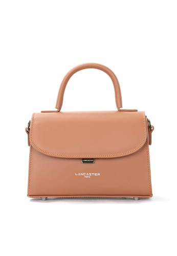 Lancaster beige Smooth Even leather small crossbody bag 0AB0EAC3C44A85GS_1
