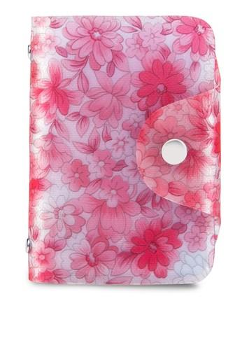 花卉印花卡esprit 工作片收納夾, 包, 飾品配件
