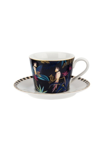 Sara Miller multi Sara Miller London - Cockatoo Teacup & Saucer (SMTC78924-XG) 1FE35HL52A7E15GS_1