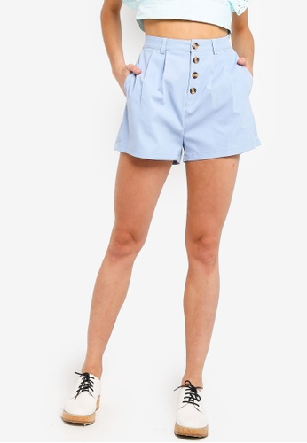 cb77fa8b6c Buttoned Down High Waisted Shorts
