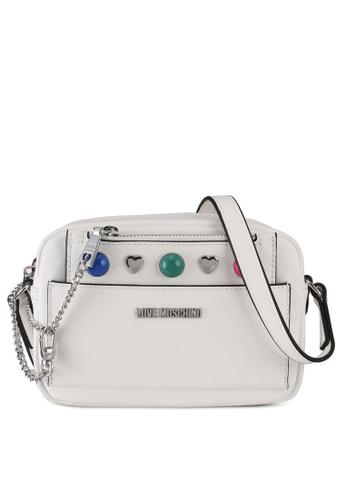 Love Moschino white LOVE MOSCHINO Borsa Sling Bag LO478AC0SXXCMY_1