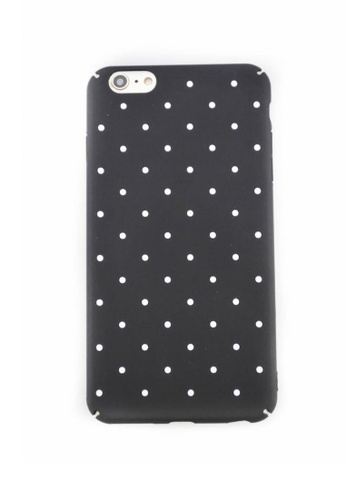 Fancy Cellphone Cases black Polka Dots Hard Case for iPhone 6plus/6splus FA644AC0IMY7PH_1