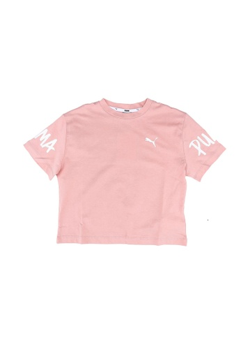 PUMA pink Alpha Tee E8916KABAD2AF3GS_1