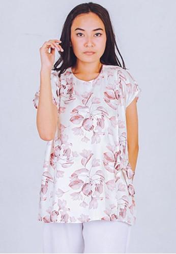 CUIT white Baju Hamil Menyusui MAIKO BLOUSE - WHITE FA00AAA9200D8DGS_1