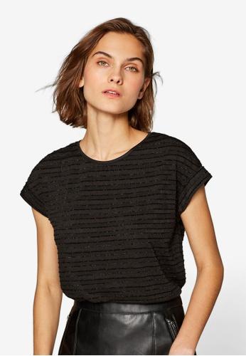 ESPRIT black Short Sleeve Top 3406FAAA9E2949GS_1
