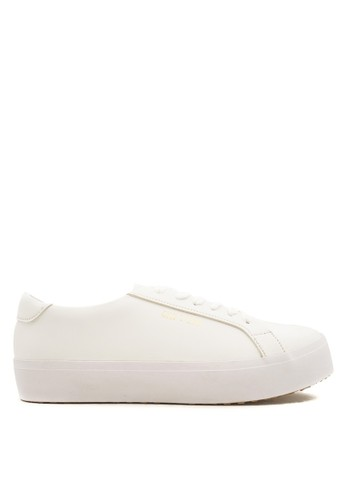 CDE white CDE Ceremonial Men Sneaker White (Zalora Sepatu Pria Sneakers Putih) 12240SH72D2F12GS_1