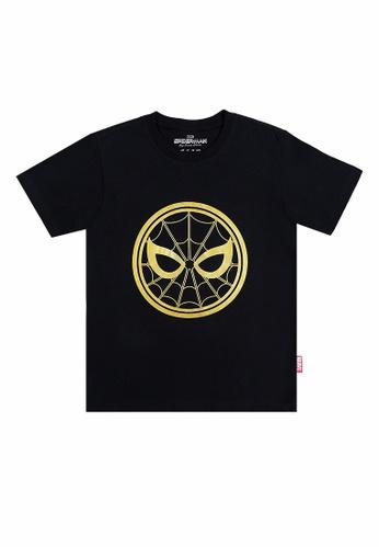 Spider-Man: Far From Home black Spiderman T-Shirt 0E654KAFA4E317GS_1
