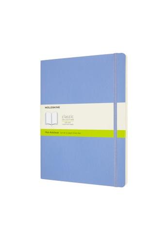 Moleskine blue Classic Notebooks Plain Soft Blue Xl DBFC9HLC24FE91GS_1