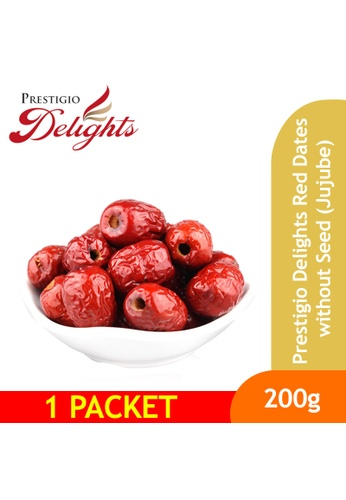 Prestigio Delights Prestigio Delights Red Dates without Seed (Jujube) 200g Bundle of 2 D2058ESCE06B1BGS_1