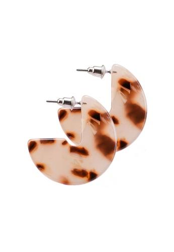 Rubi brown Loren Animal Earrings 36EAFAC7E06894GS_1