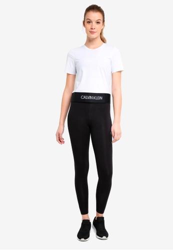 Calvin Klein white Modular Openback Sst - Calvin Klein Performance B5873AA6DC4534GS_1
