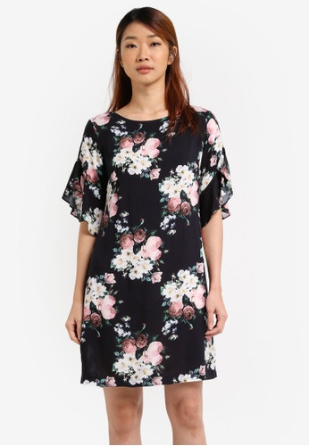 db9ff17a2570 Buy Dorothy Perkins Petite Floral Shift Dress Online on ZALORA Singapore