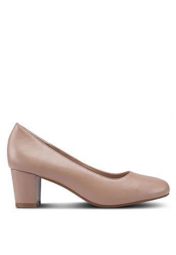 Buy prettyFIT Classic Block Heel Pumps Online on ZALORA Singapore 763af69442