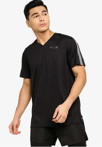 Puma black First Mile Tee D3D5BAAD45302DGS_1