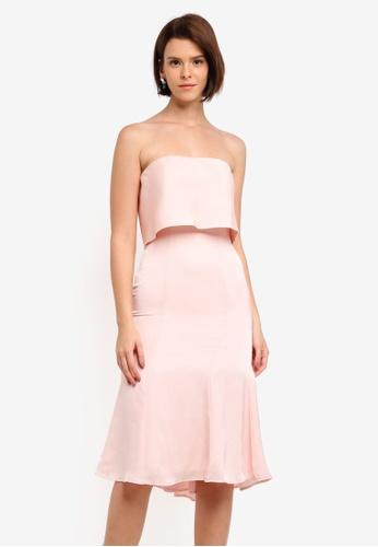 JARLO LONDON pink Isolde Dress A9322AAC7480F9GS_1