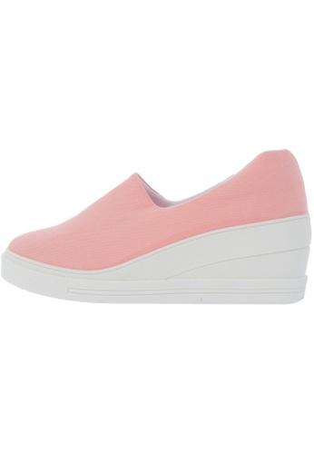 Maxstar 7H Denim Cotton Spandex Slip on Sneakers US Women Size MA168SH62DINHK_1