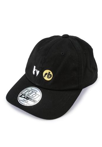 RAGEBLUE black Woven Cap 2435BACC0C2892GS_1