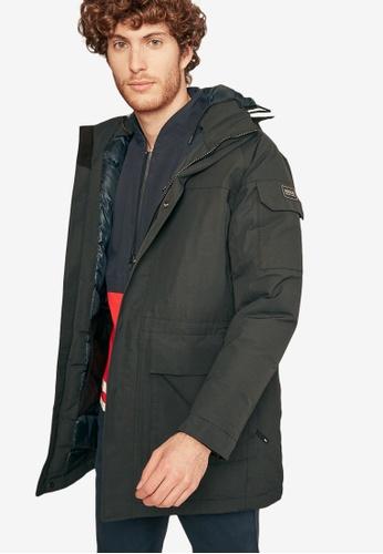 Aigle black Zormit Waterproof Jacket BBFBAAAE66767EGS_1
