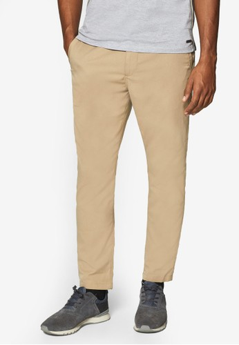 ESPRIT beige Woven Length Service Pants 28058AAD52AD4EGS_1