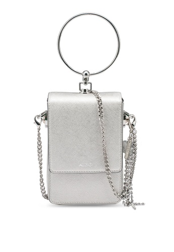 ALDO silver Zacchini Top Handle Bag 45C80ACA62141BGS_1