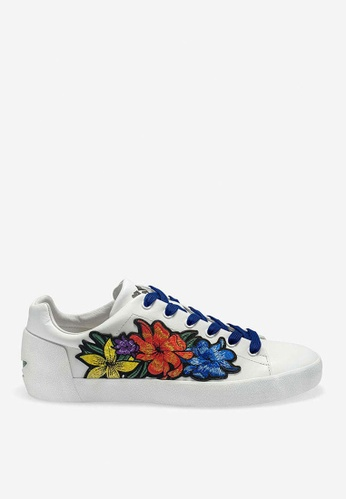ASH white Nani - White Strap Sneakers A9290SH0CEFDB5GS_1