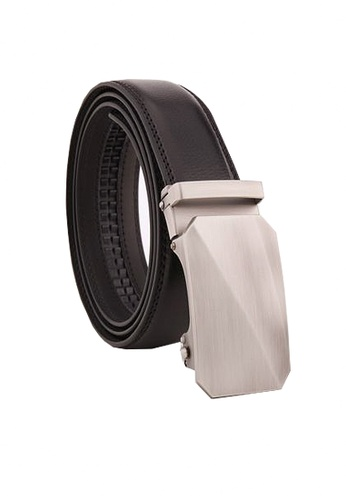Twenty Eight Shoes black VANSA Fashion Leather Automatic Buckle Belt  VAM-Bt018 6FCAFACE9E97C9GS_1