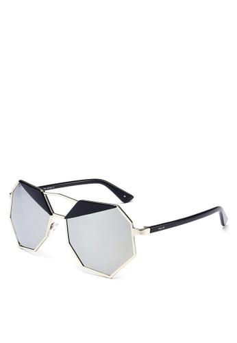 Privé Revaux silver The Activist Sunglasses PR660GL0RDX0MY_1
