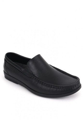 Easy Soft by World Balance black Munich Loafer Shoes 32CF4SH1824109GS_1
