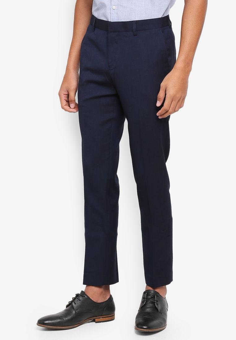 Dark Pants Slim Navy G2000 Ultra TR Twill Formal xfwq4Yg